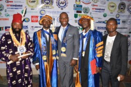 IAMPS 2017 induction ceremony
